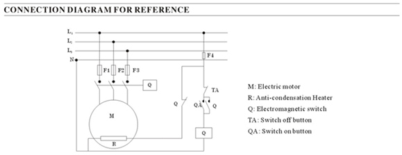 motor winding thermistor wiring diagram motor thermo system electric motor anti condensation heater ups on motor winding thermistor wiring diagram